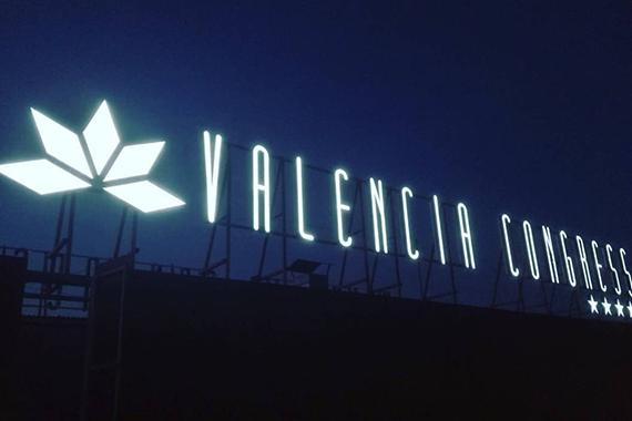Valencia Congress Coronación Nocturna