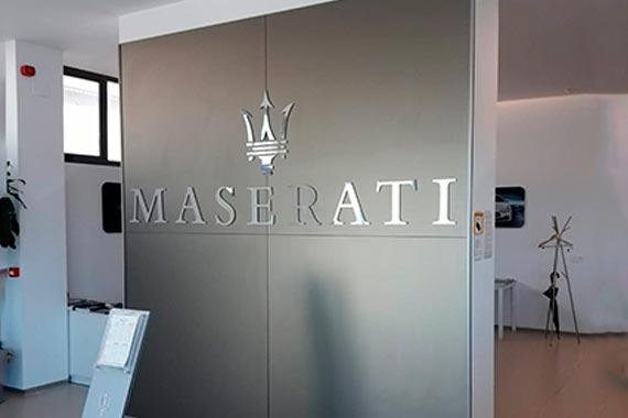 Maserati Interior Entrada