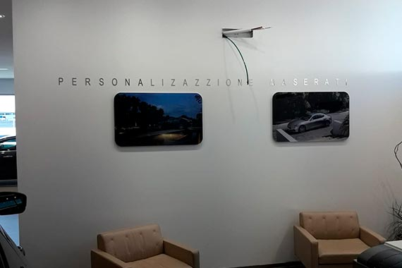 Maserati Interior Sala de Espera