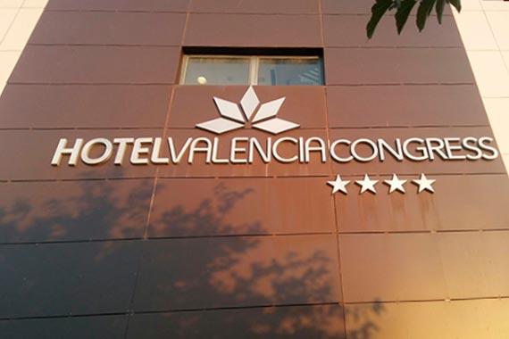 Valencia Congress Letras Recortadas