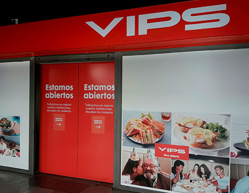 Vips Frontal